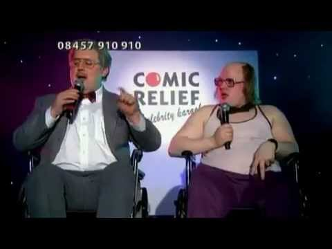 Comic Relief 2007 Peter Kay Matt Lucas and The Proclaimers