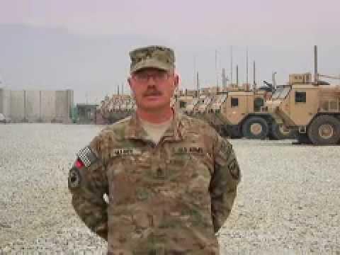 Staff Sgt. Tommy Mason holiday greeting