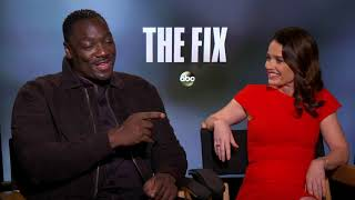 Robin Tunney and Adewale Akinnuoye-Agbaje star in new ABC series quotThe Fixquot