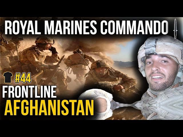 Royal Marines Commando | Afghanistan | Ben Williams | Bought The T-Shirt Podcast