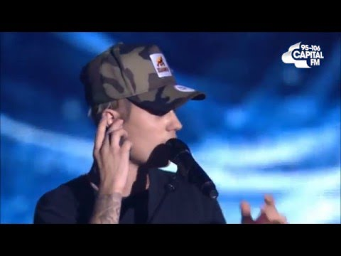 Justin Bieber - Jingle Ball - Capital FM -  2015 ( Live) - Full Concert