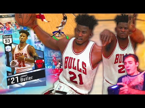 NBA 2K17 My Team DIAMOND JIMMY BUTLER IS CLUTCH! ONE OF A KIND PLAYER!