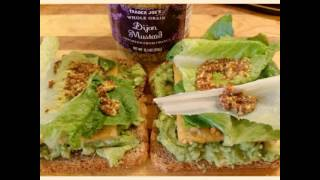 Tempeh And Avocado Sandwich.