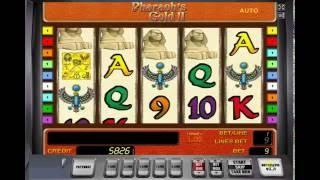 видео Игровой слот Pharaons Gold II - египетский автомат Золото Фараонов 2