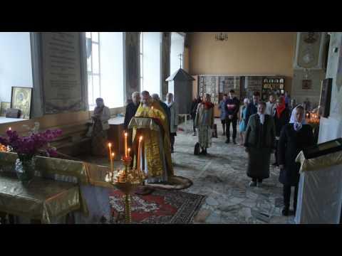 Акафист Иоанну Сочавскому в Богоявлеснком соборе 14.06,2017