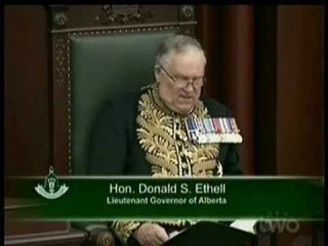 Speech From the Throne 2012