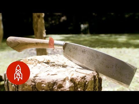 The Ancient Art of Forging Japanese Knives