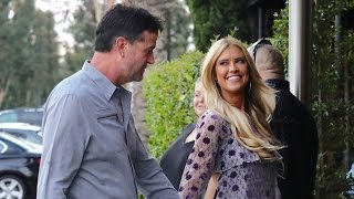 christina el moussa all smiles with new man
