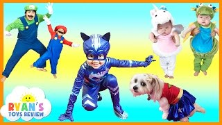KIDS COSTUME RUNWAY SHOW Top costumes ideas for family, kids, baby, dog Disney Marvel Superheroes