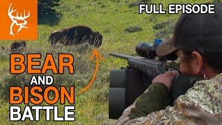 Download LANGY GETS CAUGHT IN A STAMPEDE! | Buck Commander | Full Episode Mp3 and Videos
