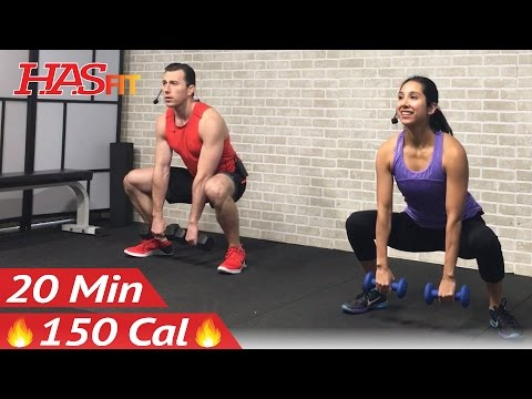 20 Min Beginner Strength Training for Beginners Workout - We