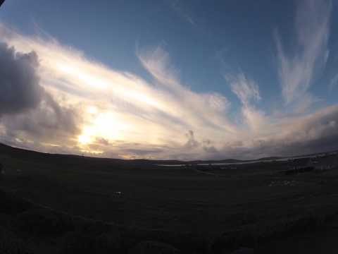 North Uist clouds timelapse