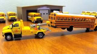 HO Scale School Bus Fleet 2013