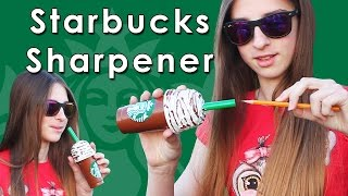 Starbucks Pencil Sharpener | DIY | Fun School Supplies | Cool DIY Project