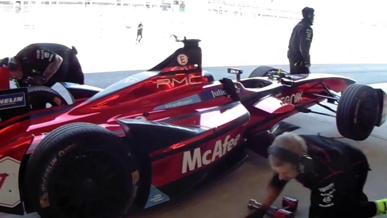 Formula E Pit Stop Eprix Mexico Praticas Libres