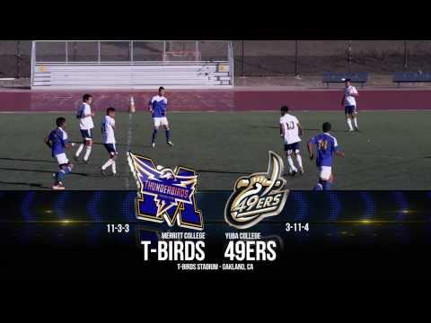 PTVSports Report - Merritt T-Birds v Yuba College 2013