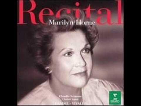 "Händel, Rinaldo,""Lascia ch`io pianga..."", Marilyn Horne"