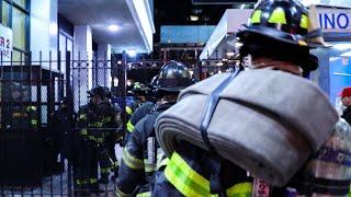 [ Manhattan 10-77 Box 1446 ] Major Fire on the 27th Floor,