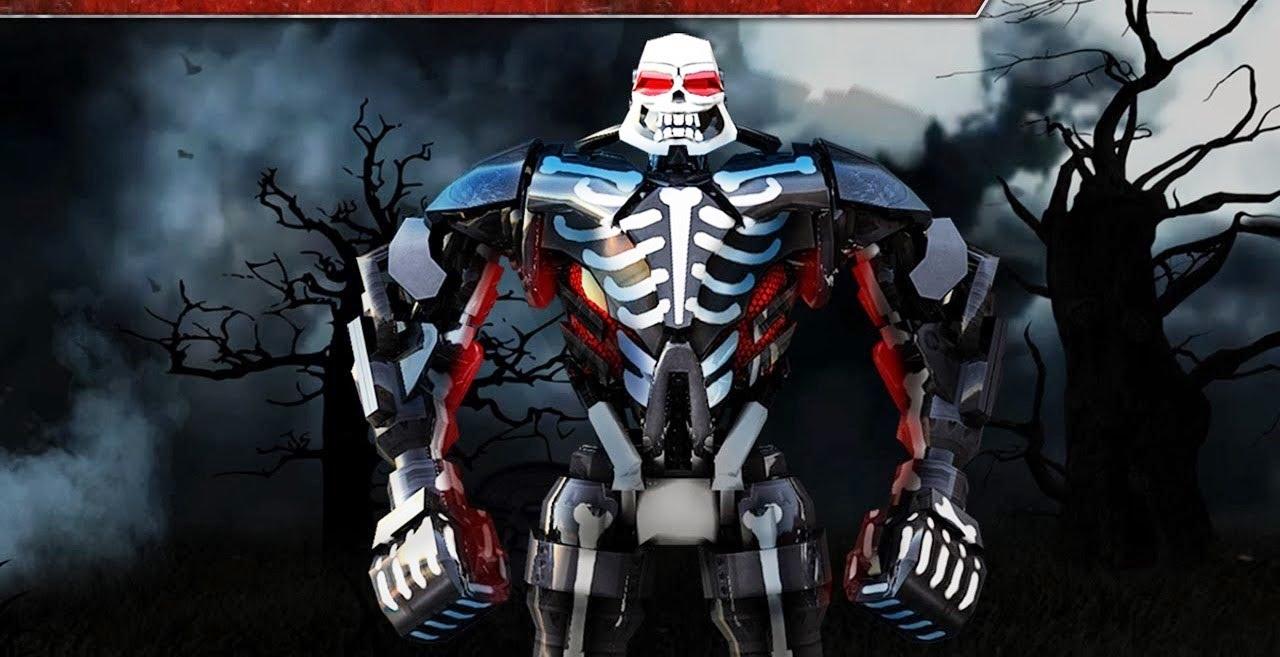 real steel final zeus & zeus halloween robots series of fights new