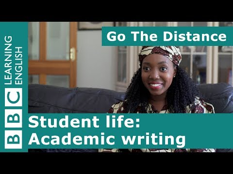 Student Life – Academic writing