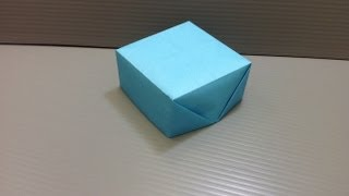 Daily Origami: 146 - Box Or Carpenter's Hat