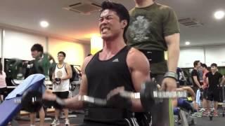 Zheng Ge Ping - Training at the Gym (July 18, 2012)