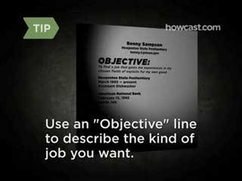 How to Write a Resume - YouTube