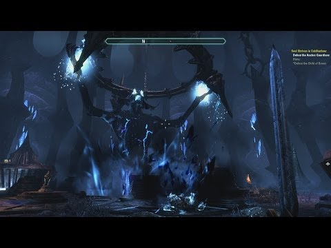 ESO beta - Smooth Work - Walkthough - Streamlined Escape from Cold Harbour