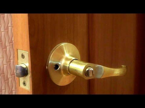 Как открыть межкомнатную дверь если замок заклинило изнутри