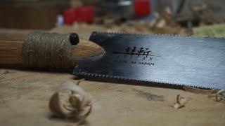 MAKING A HANDLE FOR A JAPANESE PULL SAW