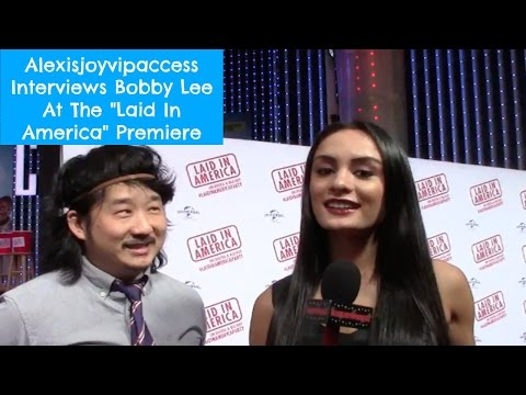 Bobby Lee Interview With Alexisjoyvipaccess At The Laid In America Premiere