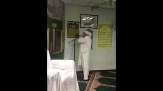 Adhan by Haji Arif Naqshbandi at Jamia Masjid Noor