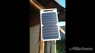 Bateria słoneczna,ładowarka USB 5V , 10W.