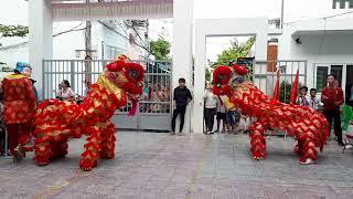 Múa lân cực hay tại trường tiểu học Lê Lai // Đội Lân Lý Tự Trọng