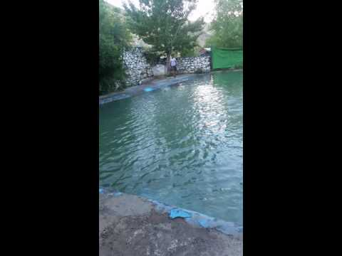 In the paghman swimming pool kabul Afghanistan