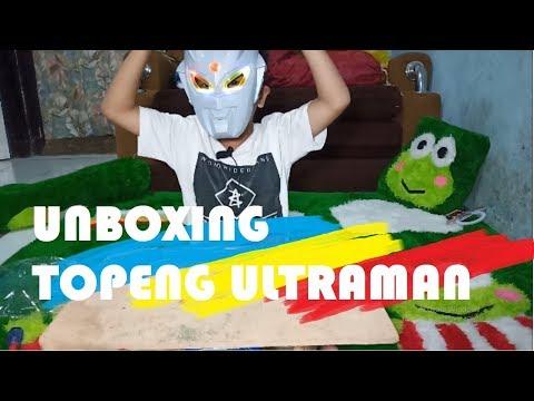 Unboxing Topeng Ultraman Zero murah