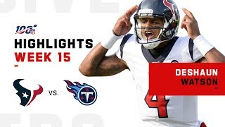 Download Deshaun Watson Highlights vs. Titans | NFL 2019 Mp3 and Videos