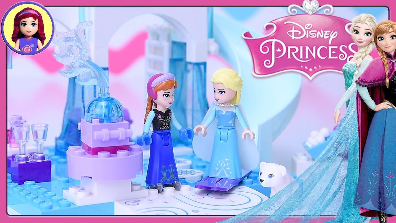 Lego Junior Disney Princess Anna & Elsa's Frozen ...