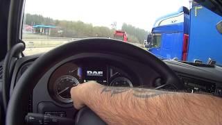 Огляд салону DAF XF 460 Euro 6
