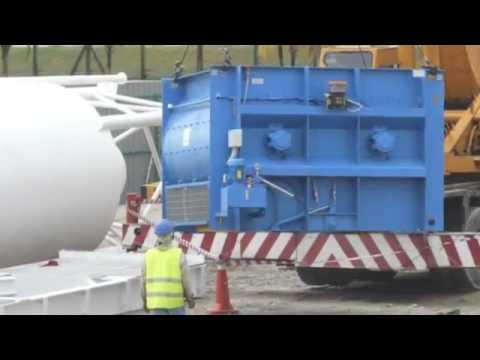 160cu.m/ hr Modular Concrete Batching Plant Installation