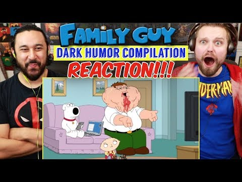 Family Guy - TRY NOT TO LAUGH CHALLENGE | DARK HUMOR Compilation ✔ - Reaction!