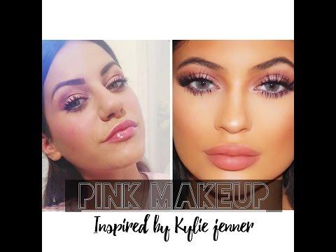 Pink Make Up inpired by kylie Jenner/ Souzana's Beauty Secrets