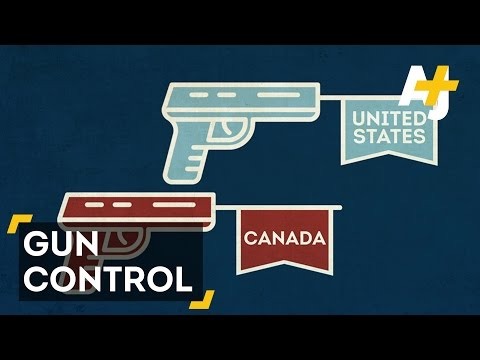 Canada Vs. USA: Who Does Gun Control Better?