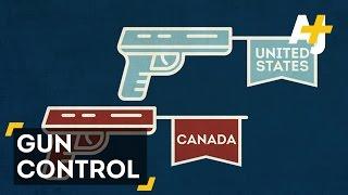 Canada Vs. USA: Who Does Gun Control Better?