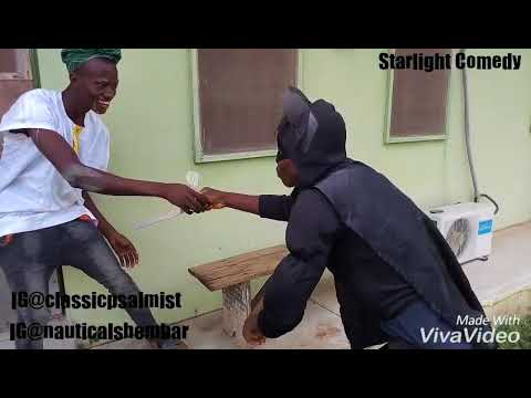 STARLIGHT COMEDY (EJURU (remix) by Kkash ft Qdot) IT IS SO HILARIOUS AND FUNNY