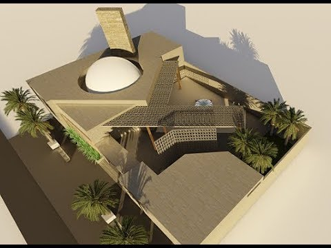 Architecture 3D Animation |  Contemporary Mosque Design