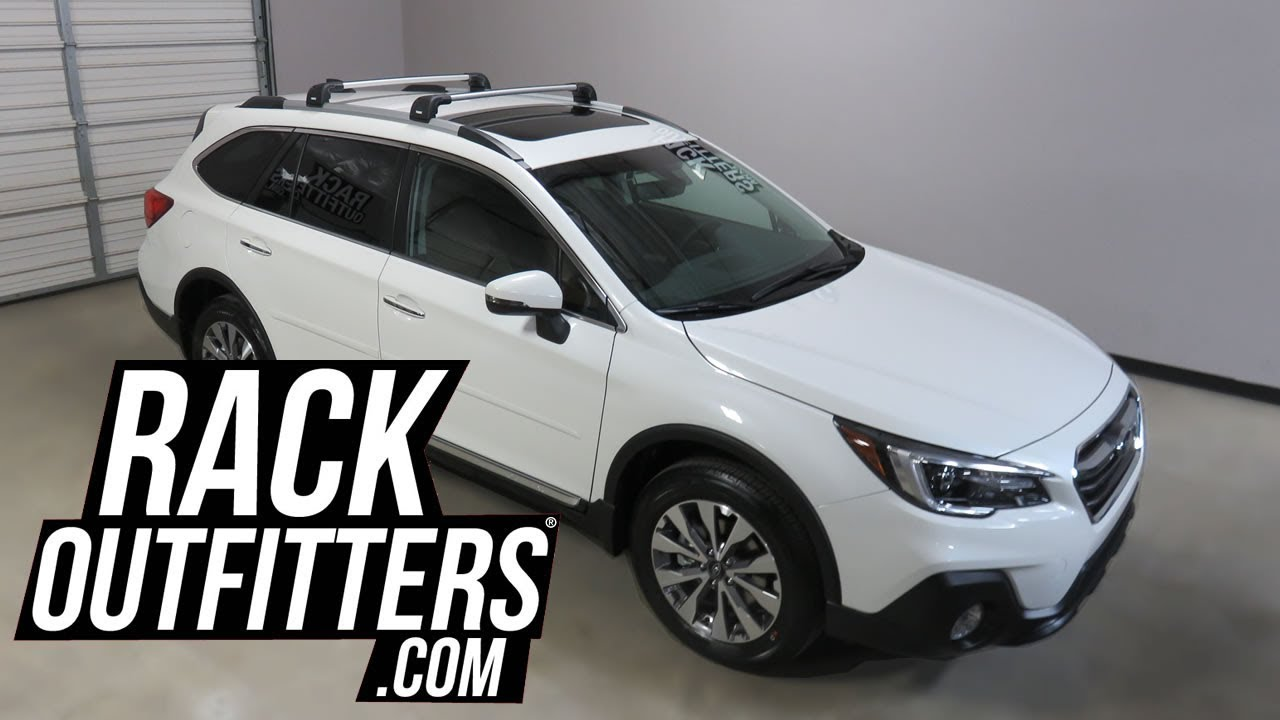 Roof rails with integrated crossbars (Outback)