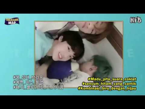 [SUB INDO] TREASURE MAP EP 22 - ROOMTOUR DORM