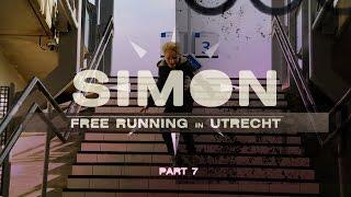 Simon Freerunning in Utrecht - part 7