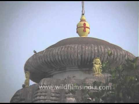 Lingaraj temple - the largest temple in Bhubaneswar